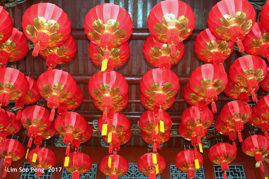 Red Lanterns of Chinese New Year