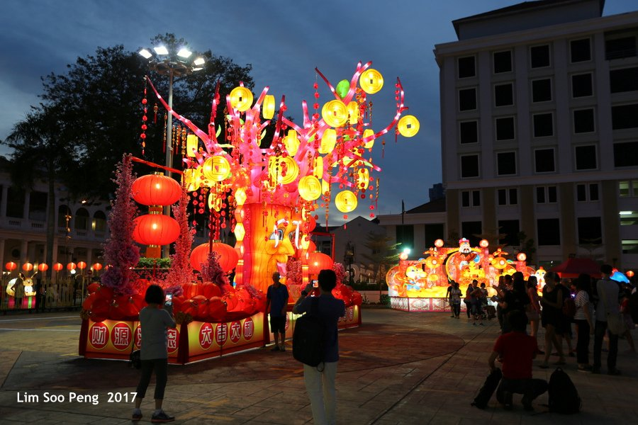 Penang Chinese New Year ( CNY ) Lanterns Festival ~ Year of the Rooster 2017
