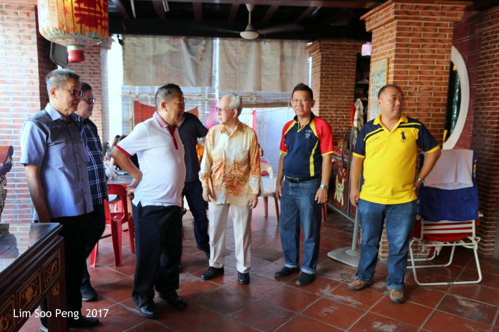Hok Tek Tong Visit to Poh Hock Seah on Saturday, 25.02.2017.