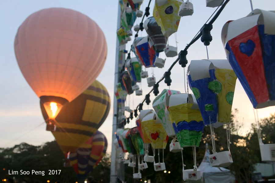 Penang Hot Air Balloon Fiesta 2017 held on 4 & 5 February, 2017 at the Polo Ground in Penang.