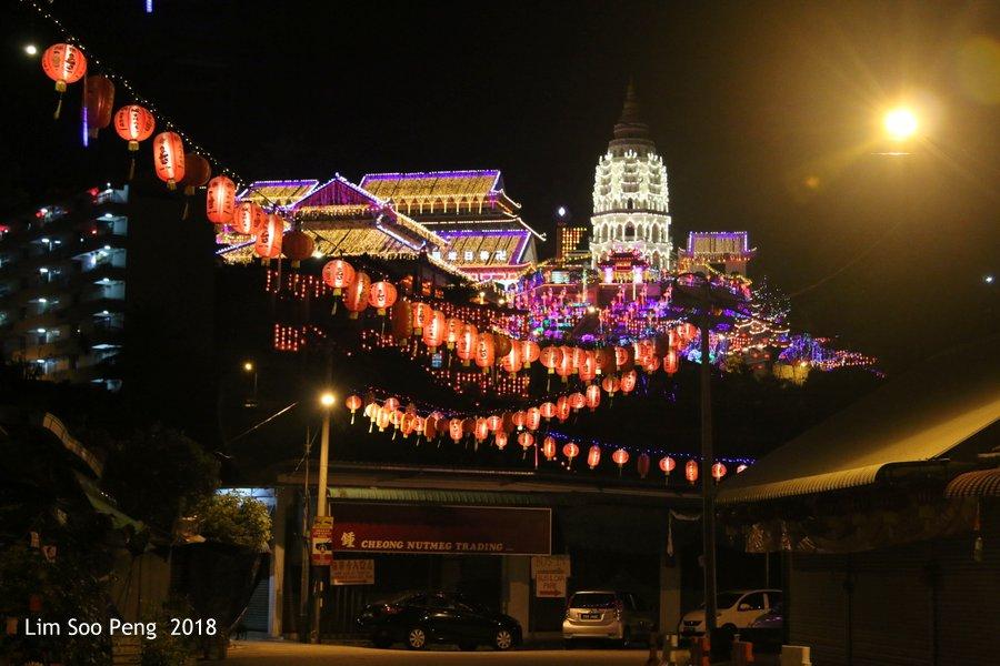 Lights Off for Kek Lok Si Temple